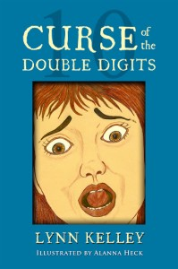 Curse of the Double Digits,  Lynn Kelley, Lynn Kelley Author, children's book, humorous book