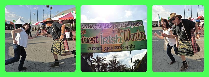 kilt, Irish festival, L.A. County Fairgrounds, St. Patrick's Day, Lynn Kelley, Lynn Kelley author