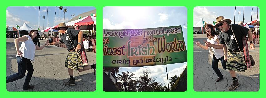 kilt, Irish festival, L.A. County Fairgrounds, St. Patrick's Day, Lynn Kelley, Lynn Kelley author