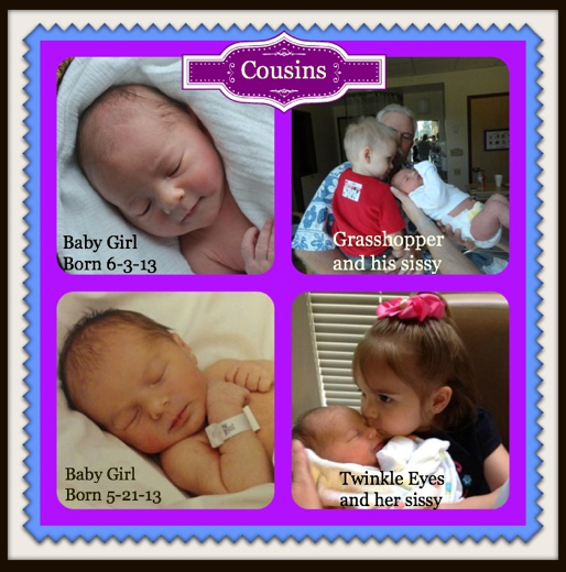 Four cousins - Our grandchildren