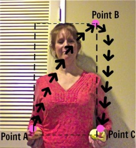 Juggling Point A, B, C