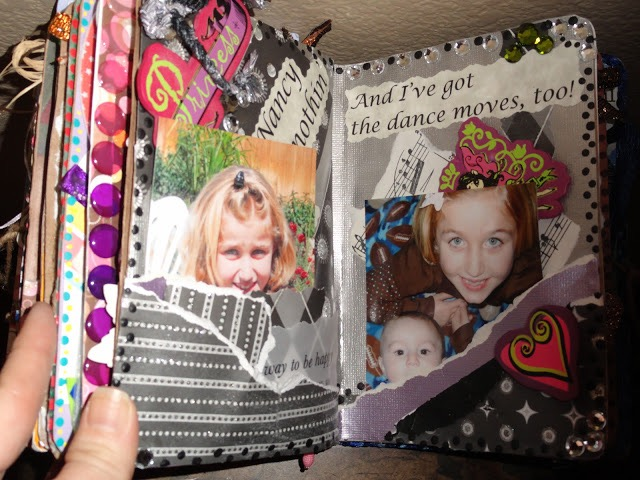 Lynn Kelley, Grammy Gets It, altered art book for a little girl