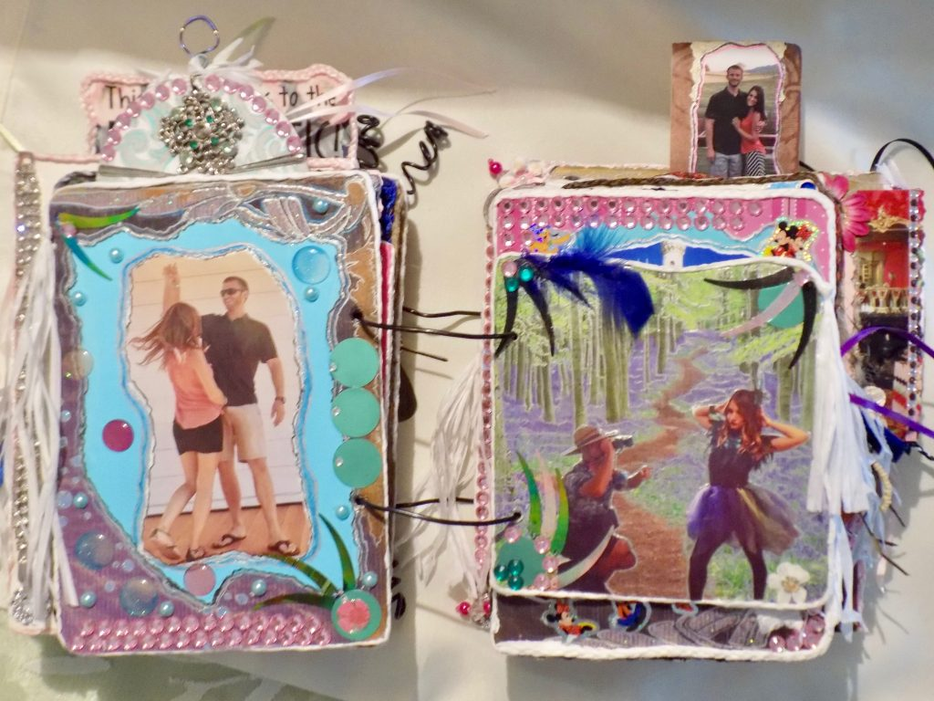 Lynn Kelley, altered art, scrapbooking, art therapy, multi media scrapbooking