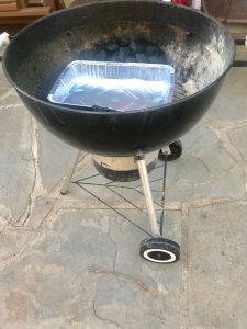 Lynn Kelley, how to barbecue a turkey