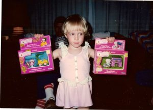 Lynn Kelley, favorite toys
