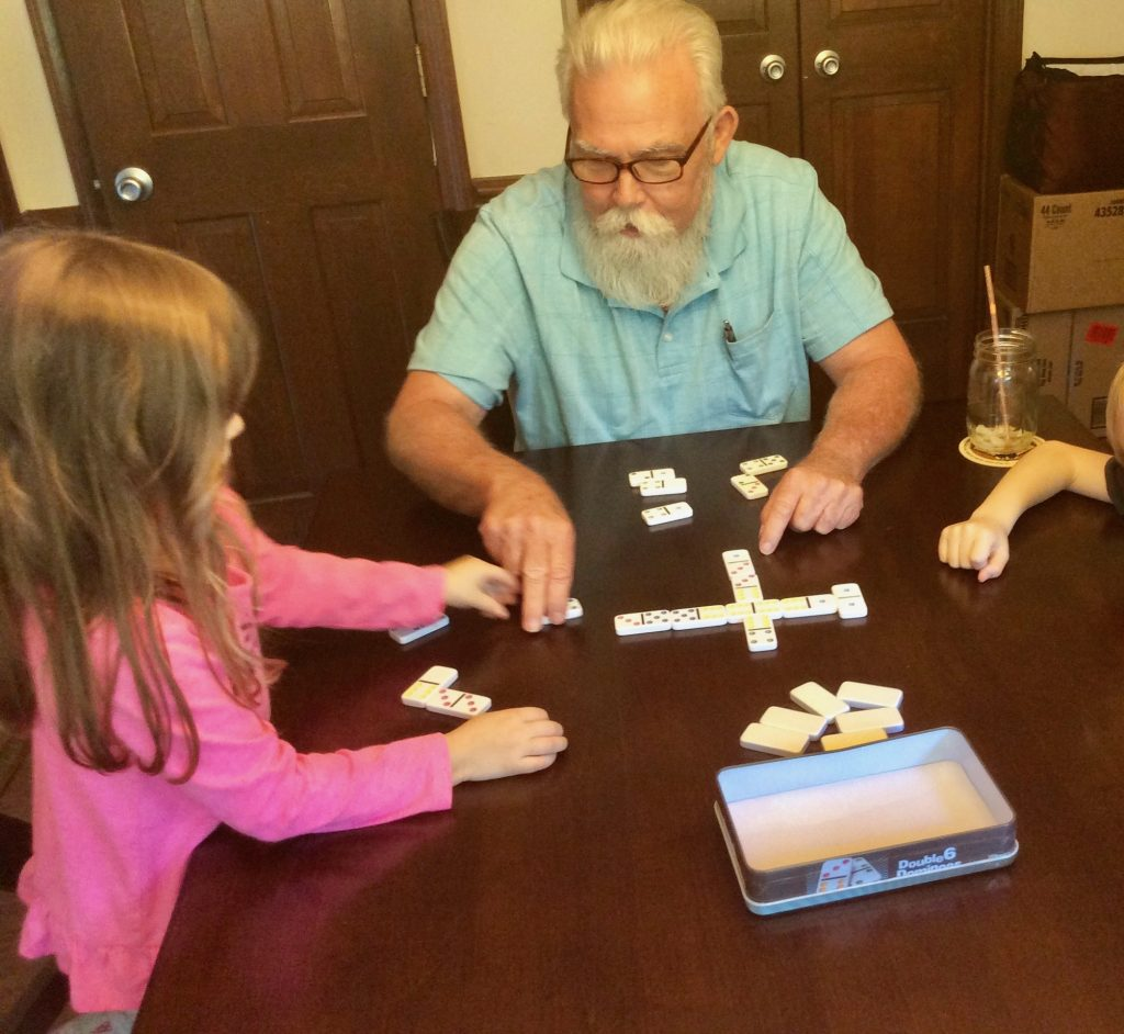Lynn Kelley, young kids love card games