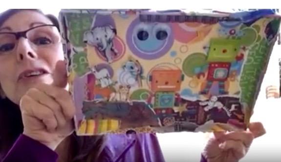 Lynn Kelley, decorated box