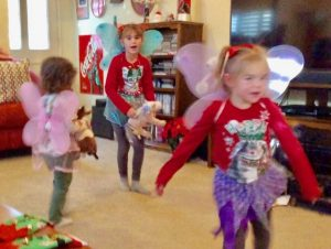 Lynn Kelley, fairy wings