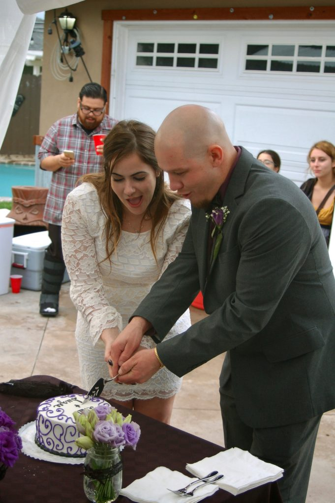 Lynn Kelley, happy first anniversary to youngest daughter