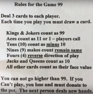 Lynn Kelley Grammy Gets It Card Game 99